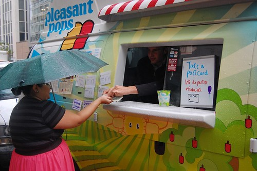 Pleasant Pops in the rain
