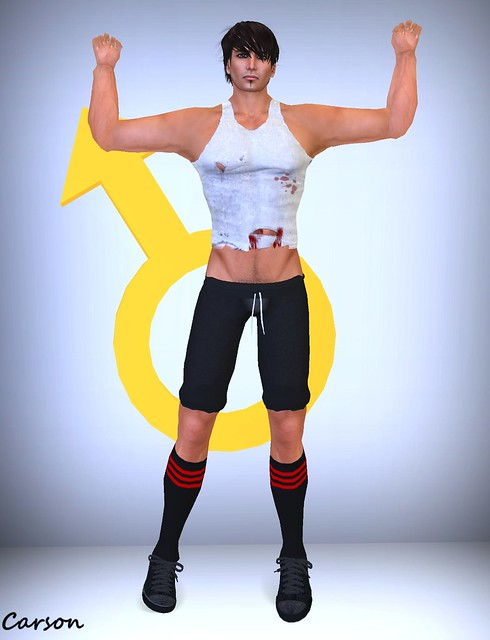 Gay Fight Club - Dirty Fighter Crop Top, Workout Pants and Socks
