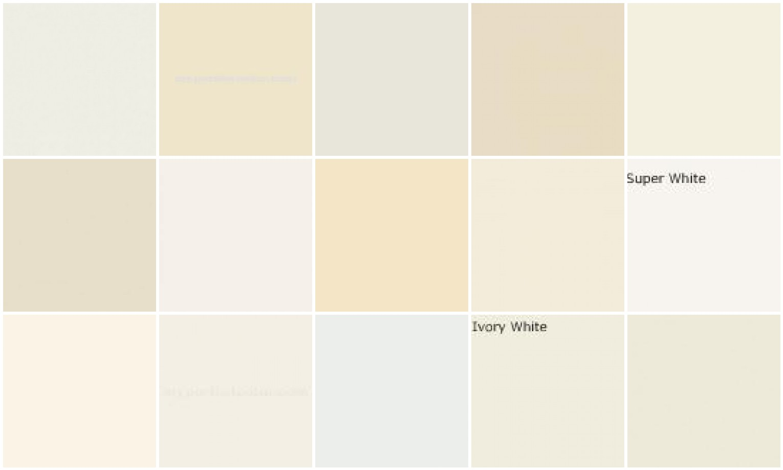 Paint trim colors and other extremely important issues for White is all colors