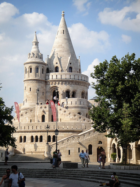 fishermen's bastion.