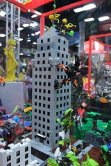 Hero Factory Display Case - LEGO Booth at Comic Con - 2