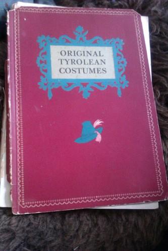 original Tyrolean costumes