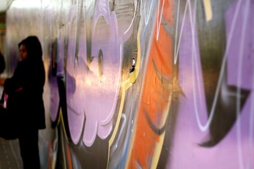 Friday: Grafitti in Wellington