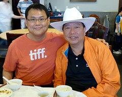 with Lee Cheuk-yan (李卓人) in Calgary - pix 05