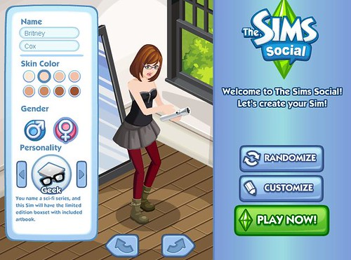 Play The Sims Social Today!!!