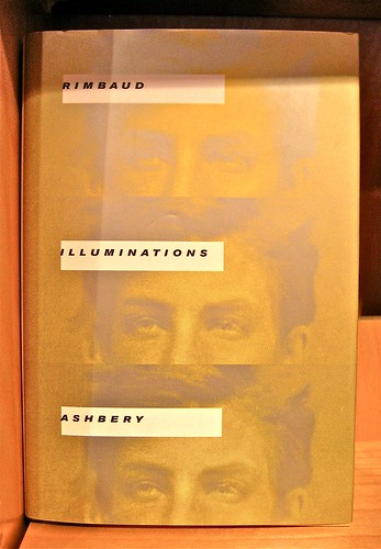 Arthur Rimbaud. Illuminatios (tr. John Ashbery). Jacket Design by Quemadura. Copertina (part.)