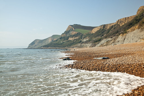 Dip at Eype by natamagat