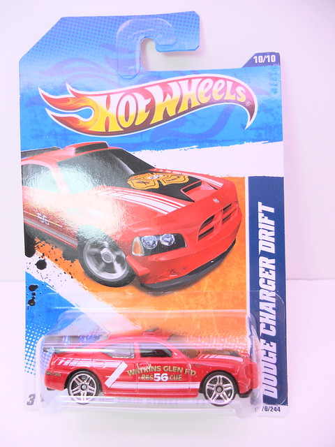 hot wheels dodge charger drift red (1)