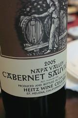 Heitz Wine Cellars Cabernet Sauvignon