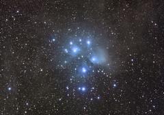 M45, the Pleiades (aka Subaru, aka Seven Sisters)
