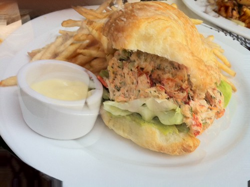 lobster croissant