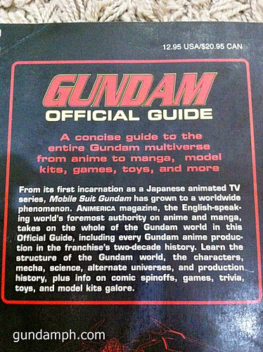 GN Sefer Animerica Gundam Official Guide MSV Collection (7)