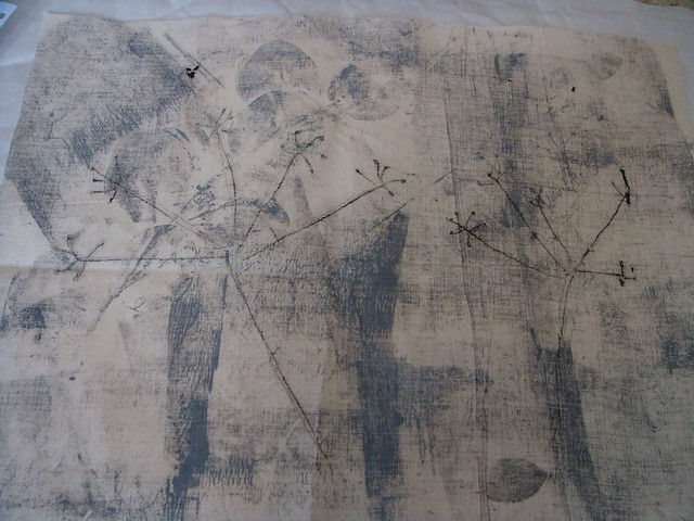 Monprinted linen