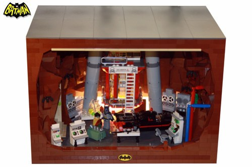60´s Batcave