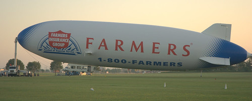 Farmer's airship Eureka ride at Oshkosh 2011