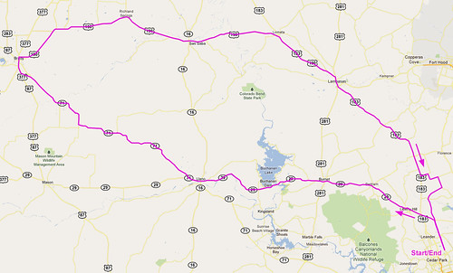 8/7/2011 Route