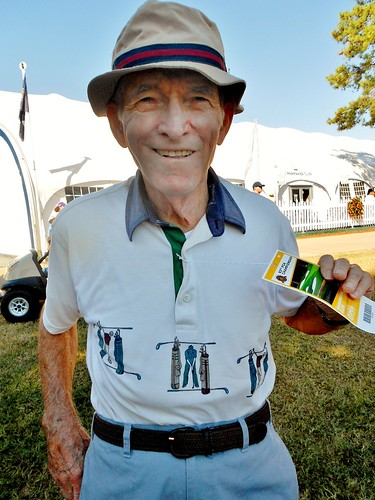 An elderly gentleman.