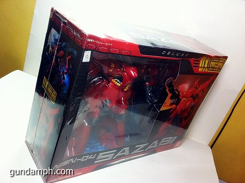 MSIA DX Sazabi 12 inch model (9)