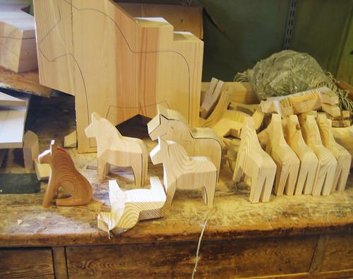 Kits Rocking Horse Saddle