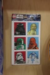 Hallmark LEGO Star Wars Stickers