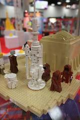 Star Wars Miniland Scene - LEGO Booth at Comic Con - 8
