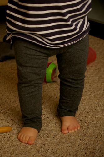 RB Leggings - modelled!