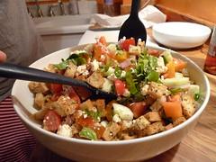 It's such a pretty salad.