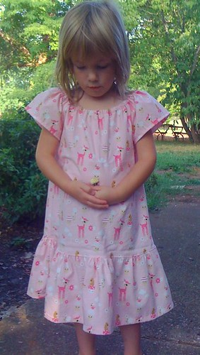 little pink deer dress