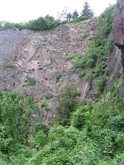 Ein Gedränge im zweiten Klettersteig, dem Kurt und Georg Löwinger-Steig