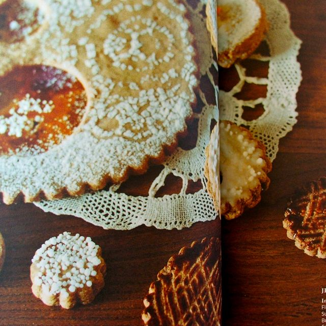 cookie recipe in Yoshiko Tsukiori's Stylish dress book