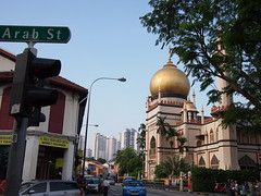 Arab Street and Sultan Mosque