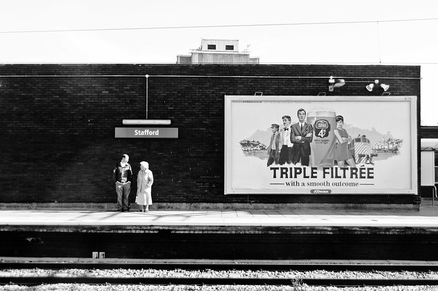 Stafford station, September 2011