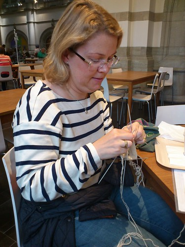 carin knitting
