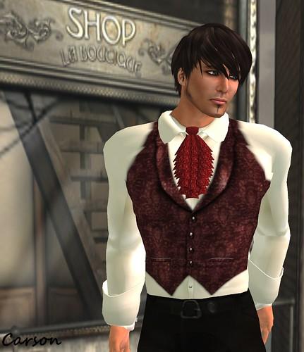 -=Brain Circuit Inc=- Tradesman Red Waistcoat MM