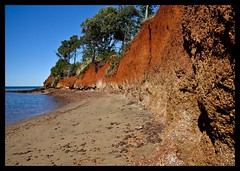 Erosion of Red Cliffs of Scarborough-11=