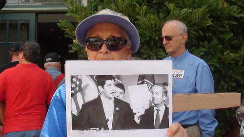 Rally at Todd Akin's office