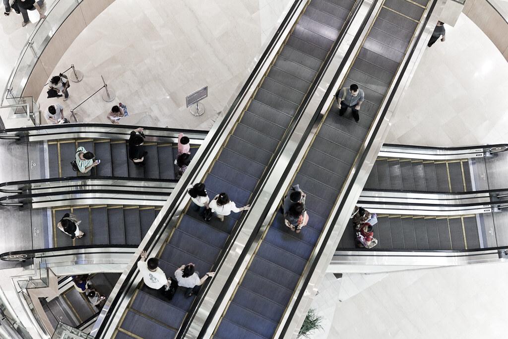 J85 / Scène de vie : Dans les Malls