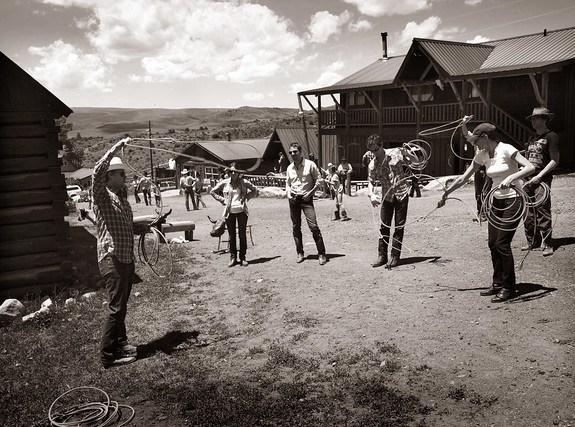 Black Mountain Colorado Dude Ranch rope roping