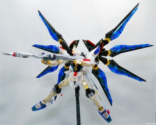 MG Strike Freedom {Expo Limited} Clear+Gold Part (2)