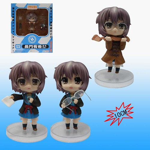 Bootleg Nendoroid Nagato Yuki: Disappearance version