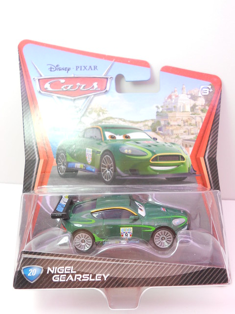 disney cars 2 case f nigel gearsley plastic tires (1)