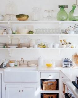 open shelving Martha Stewart Living