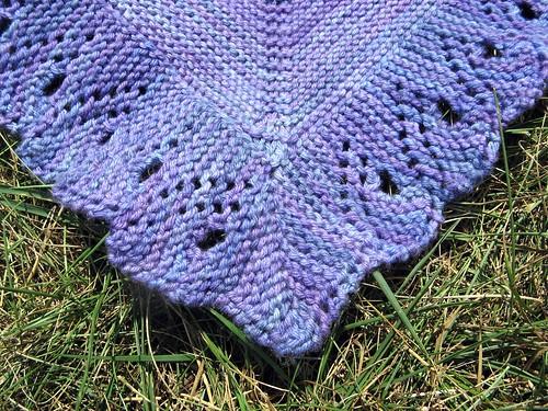 2640 Marilla shawl (corner)