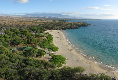 Hapuna Beach State Park from North End