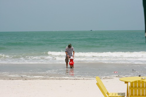 On the beach at Langkawi