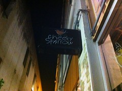 Cheeky Sparrow newish Perth bar