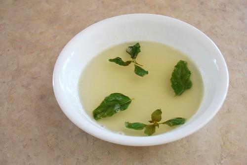 lime basil syrup