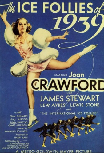 Joan Crawford Ice star - 1939