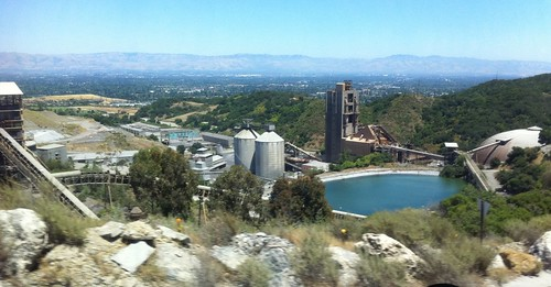 Lehigh Cement Plant Tour, Cupertino CA