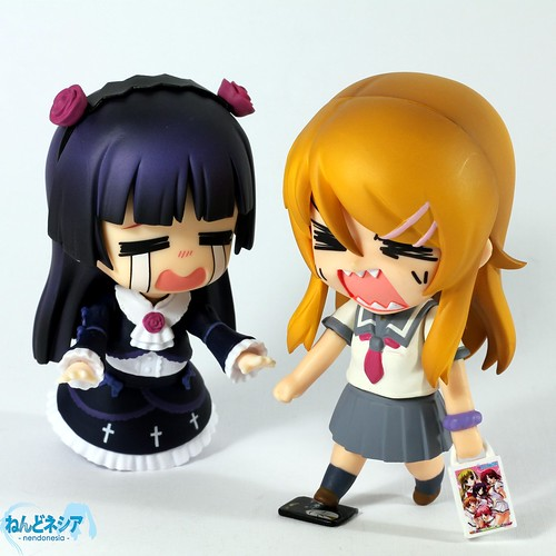 Kirino stepped on the Maschera DVD